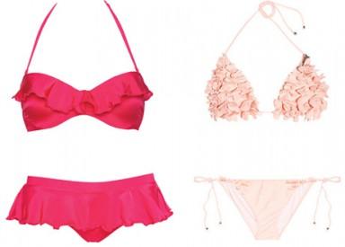 модные купальники, лето 2014, модный крой, модный цвет