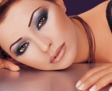 макияж, восточный, румяна, ресницы