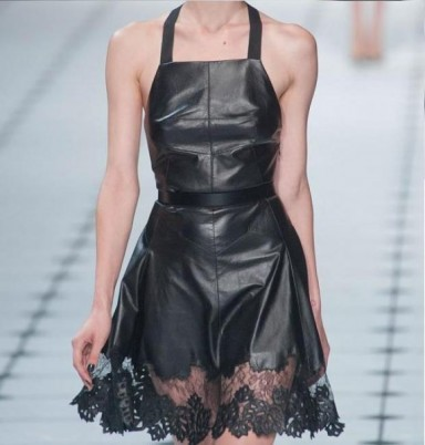 модный хит, платье передник, гардероб