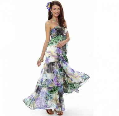 пляжные платья, модные тренды, платья, принт, в моде