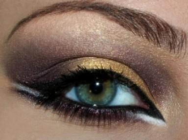макияж, кошачьи глаза, стрелки, подводка, тени