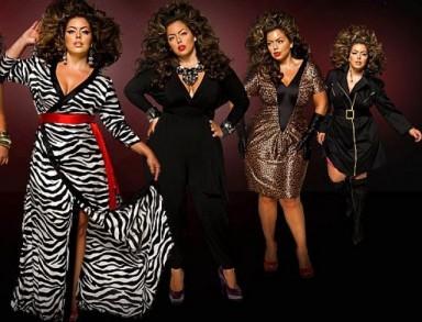 мода, полные женщины, платье, мода полных