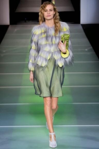 Armani, коллекция, неделя моды
