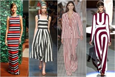 модный принт, стиль, одежда, полоска