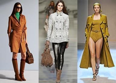 сапоги, женская обувь, толстый каблук, тренд