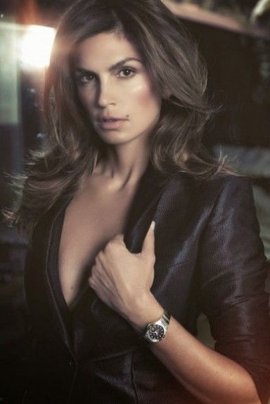 Синди Кроуфорд, фото, снялась в реклама, часы