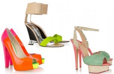 босоножки, модная обувь, тренд