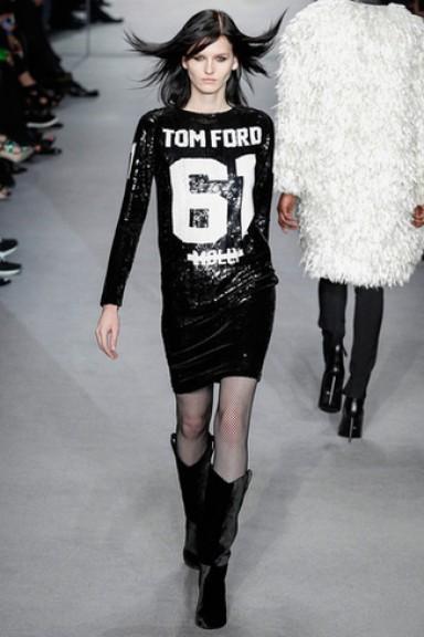 Том Форд, коллекция, осень зима 2014