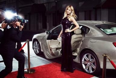 Хайди Клум, реклама, бренд, Maserati