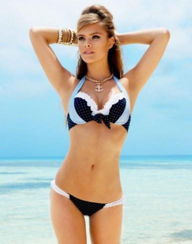 купальники, пляжная мода, лето 2014