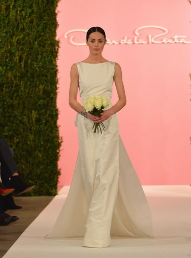 свадебные платья, Oscar de la Renta
