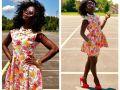 тренд, платья, цветы