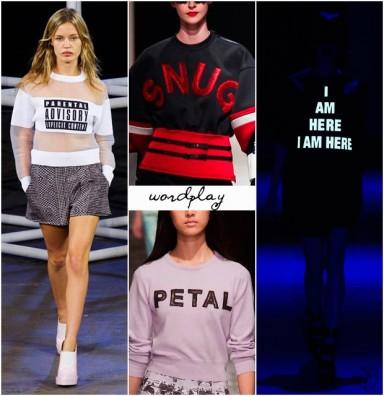 мода, тренд, весна 2014