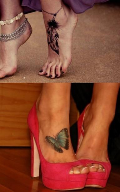 татуировка, знаменитости