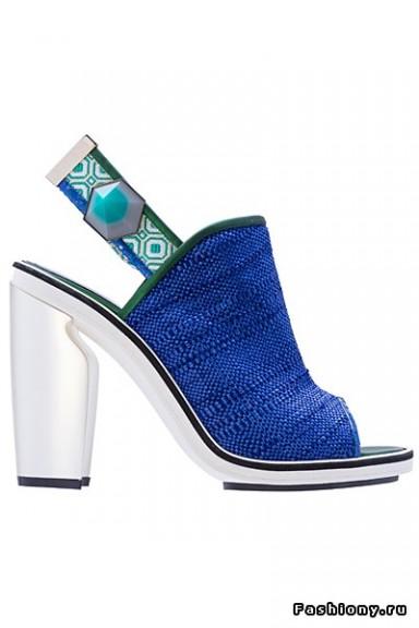 обувь, Nicholas Kirkwood, весна-лето 2014