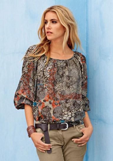 Блузки Из Шолка Рубашечного Покроя