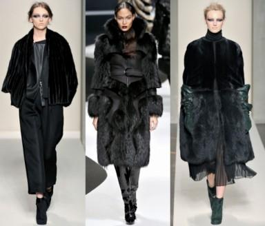 шубы, мода 2015