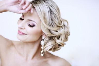 свадебный макияж, модный макияж