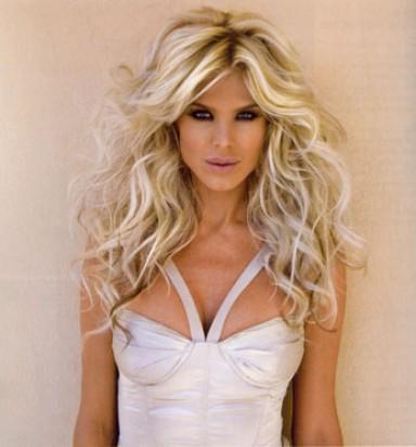 макияж, блондинка