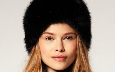 мода, 2015, шуба, шапка