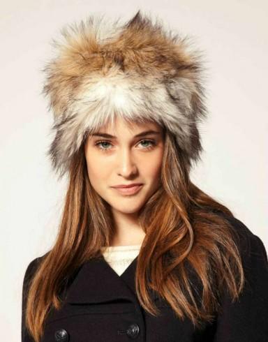 меховые шапки, модная шапка