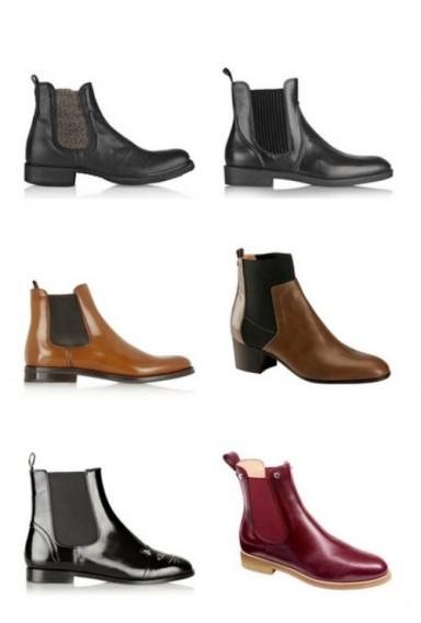 мода, ботинки
