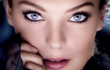 макияж, серые глаза