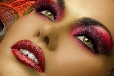 макияж, глаза