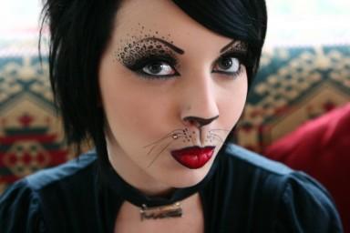 макияж, Хэллоуин