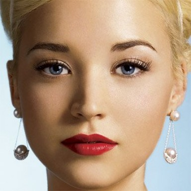 макияж, блондинки