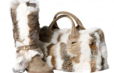 меховые сумки, мода 2015