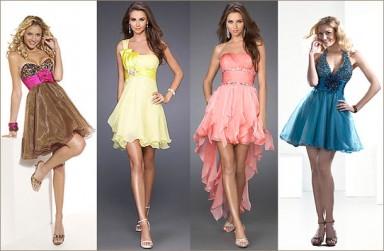 платье, девушки