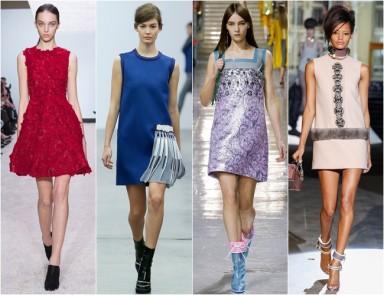 мини платье, модные платья