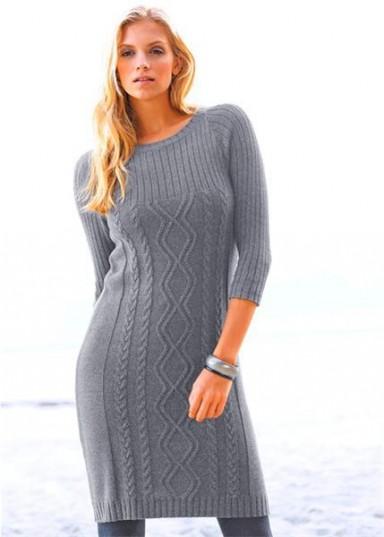 платья, вязаные чулки