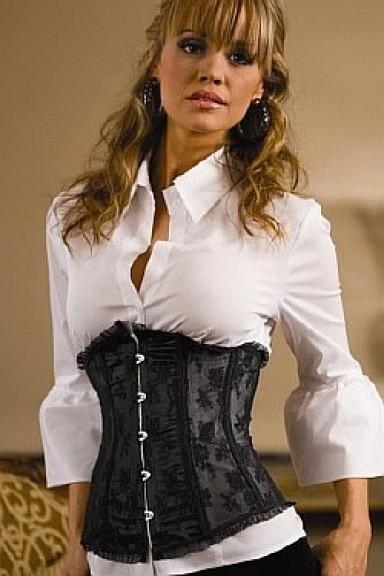 мода, женский корсет