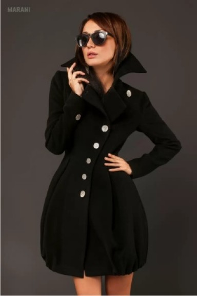 мода, пальто, осень зима