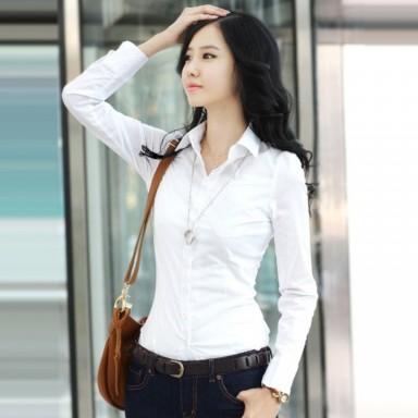белая рубашка, мода для женщин