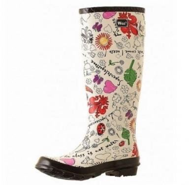 резиновые сапоги, модная обувь