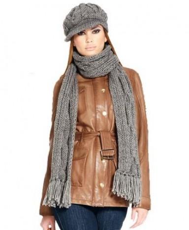 шарф, мода, женщины