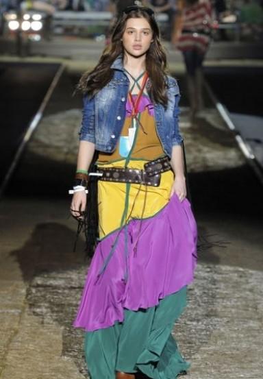 цыганский стиль, одежда