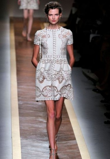 платье, ткань