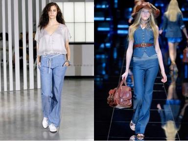 брюки, женская мода