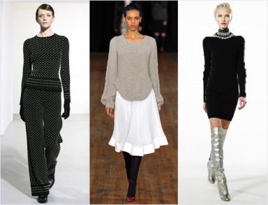 Модная одежда трикотаж