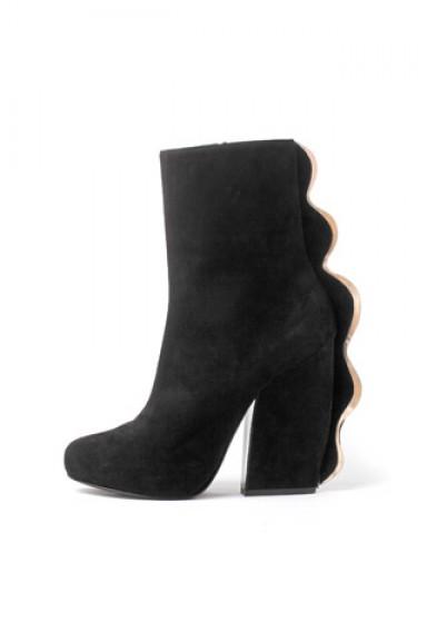 мода, сапоги, ботфорты, модная обувь, осень 2013