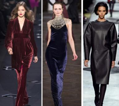 бархат, модный тренд