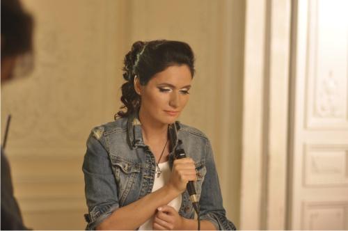 Женя Тополь, клип, Киев, певица